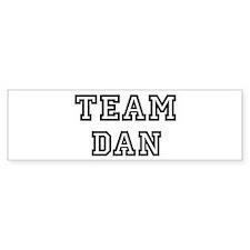 Team Dan Bumper Bumper Sticker