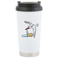 Test Tube Stork Travel Mug