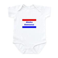 Alaska Democrat Infant Creeper