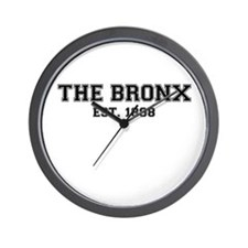 The Bronx Est. Wall Clock