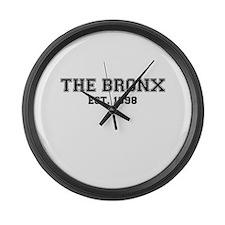 The Bronx Est. Large Wall Clock