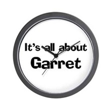 It's all about Garret Wall Clock