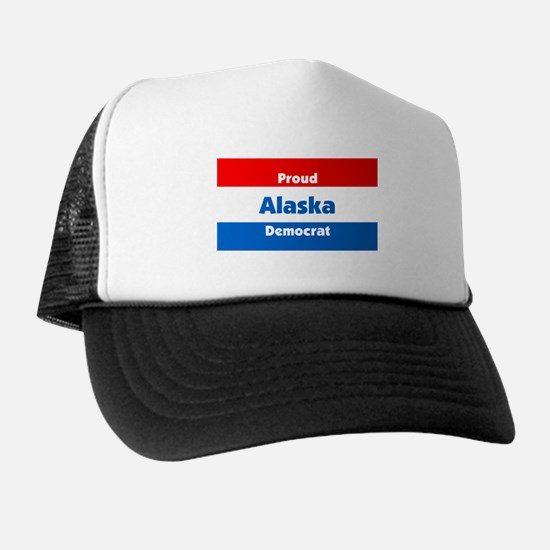 Alaska Proud Democrat Trucker Hat