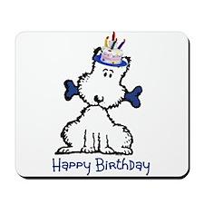 Dog Birthday Mousepad