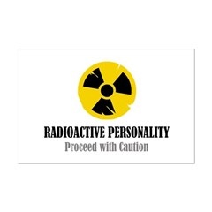 Radioactive Personality Posters