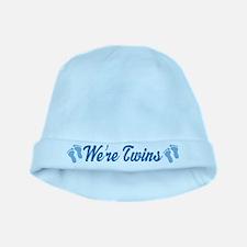 Were Twins Baby Boy Blue Infant Beanie Hat