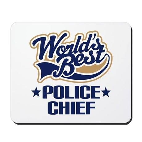 Police Chief Mousepad