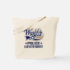 Police Lieutenant Tote Bag