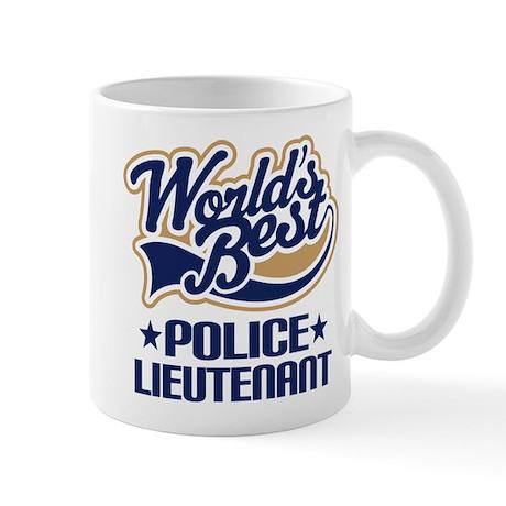 Police Lieutenant Mug