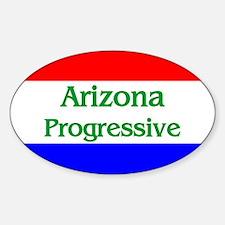 Arizona Progressive Oval Decal