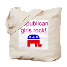 Republican Grils Rock Tote Bag