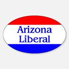Arizona Liberal Oval Decal
