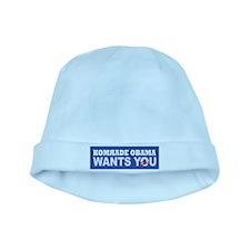 Anti Barack Obama baby hat