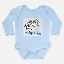 Singer in Training Long Sleeve Infant Bodysuit