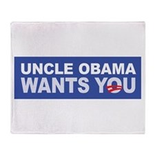 Uncle Obama Wants You Throw Blanket