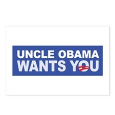 Uncle Obama Wants You Postcards (Package of 8)