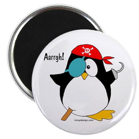 "Pirate Penguin 2.25"" Magnet (10 pack)"
