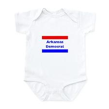 Arkansas Democrat Infant Creeper