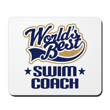 Swim Coach Mousepad