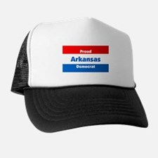 Arkansas Proud Democrat Trucker Hat