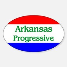 Arkansas Progressive Oval Decal
