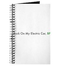 Cute Electric car Journal