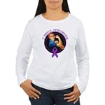 I Will Survive Pancreatic Cancer Women's Long Slee
