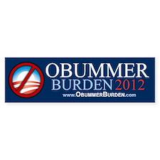 Obummer Burden Car Sticker