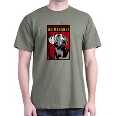 Obey the Weimaraner! Dictator T-Shirt
