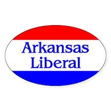 Arkansas Liberal Oval Decal