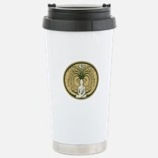 Buddha and the Bodhi Tr Travel Mug