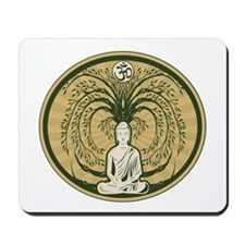 Buddha and the Bodhi Tree Mousepad