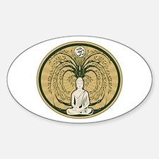 Buddha and the Bodhi Tree Decal