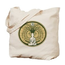 Buddha and the Bodhi Tree Tote Bag