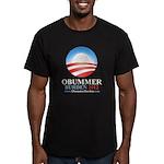 Obummer Burden Men's Fitted T-Shirt (dark)