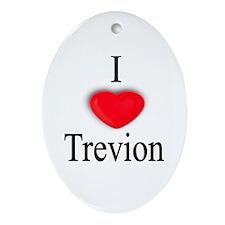 Trevion Oval Ornament