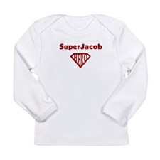 Super Hero Jacob Long Sleeve Infant T-Shirt