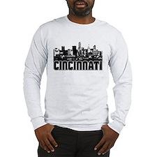 Cincinnati Skyline Long Sleeve T-Shirt