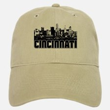 Cincinnati Skyline Baseball Baseball Cap