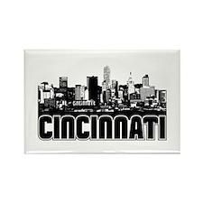 Cincinnati Skyline Rectangle Magnet