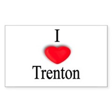 Trenton Rectangle Decal