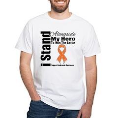 Leukemia I Stand Hero Shirt