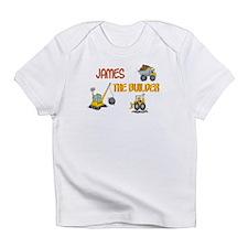 James the Builder Infant T-Shirt