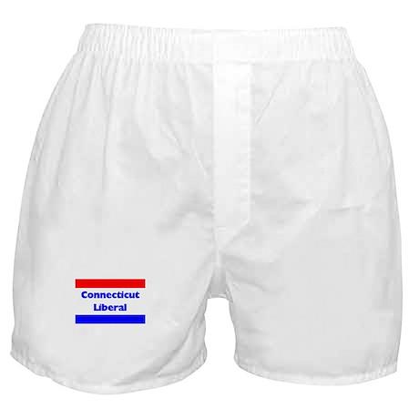 Connecticut Liberal Boxer Shorts