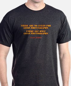 Threre Are No Rules Black T-Shirt