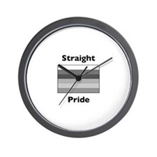 Funny Straight Wall Clock