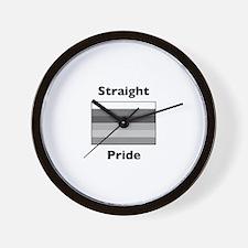 Unique Straight Wall Clock