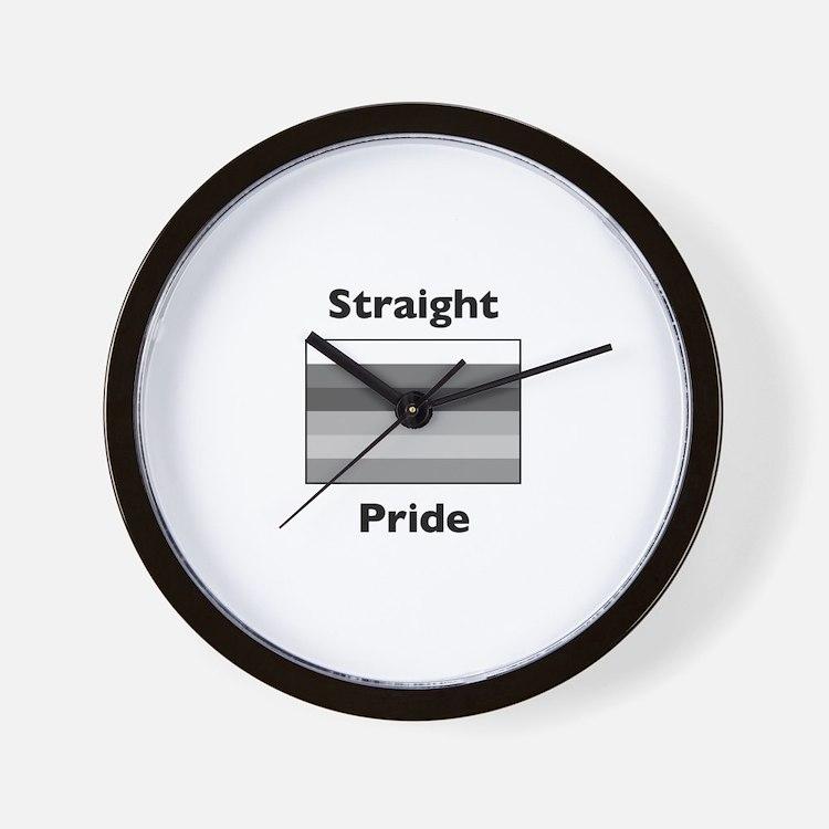 Cute Straight Wall Clock