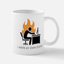 Write My Own Stunts Mug