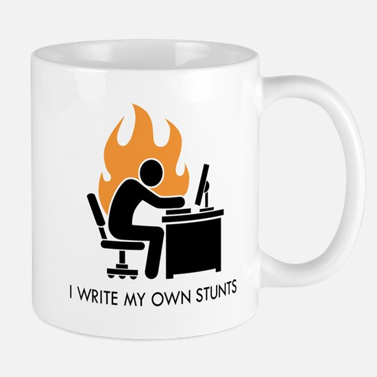 Write My Own Stunts Mug